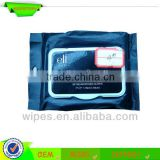 private logo beautiful facial care makeup cleansing wet wipes