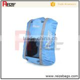 Alibaba custom plastic carry bag design hiking backpack