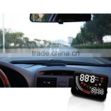 5.5 inches plug and play high brightness car hud head up speed display with remote control
