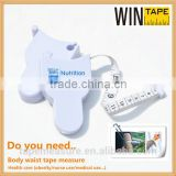 150cm branded metrics health measure tape promotional gift under 1 dollar with Company Logo