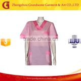 Wholesale Hospital Staff Pink Nurse Uniform