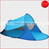 Blue Automatic Instant Pop Up Instant Portable Outdoors Cabana Beach Tent Shelter, Sun Shade Sport Shelter, Beach Umbrella