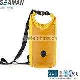 new design dry bag dry sack swim back with show window and shoulder strap for diving surfing camping hiking