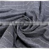2016 cotton stripe yarn dyed garment fabric in stock selling