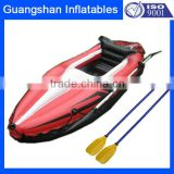 single inflatable dinghy kayak boat