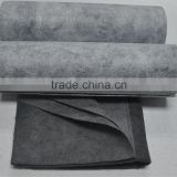 Activated carbon non-woven fabric air filter roll media