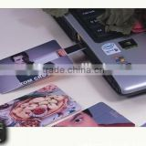 Promotional Super Thin Credit Card USB Flash Drive Memory Stick
