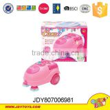Plastic pink functional household appliance,cleaner&iron&kettle&washer play toys set