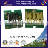 (ARC-E-T2431R) ARC auto reset inkjet ink cartridge chip for Epson Expression Photo XP-750 XP-850 XP750 XP850 XP 750 850