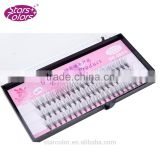 Hand-made pre-made 10D high quality silk flare eyelash extension lash black color                                                                         Quality Choice