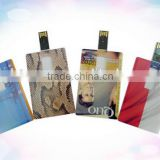 Best price card shaped usb flash drive ,customized logo gift credit u disk,printing pen drive