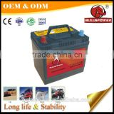 long life mf auto battery 12v 68ah quick start ultra power car battery