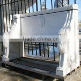 antique stone garden benches for sale(customized accept)                                                                         Quality Choice