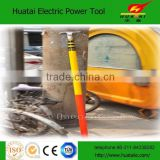 2015 Huatai hot sales Fiberglass telescopic hot stick with 7.5 meter