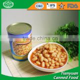 Factory wholesale canned white kidney beans in tomato sauce
