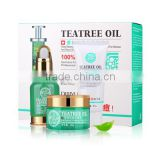 Quick effect tea tree oil natural herbal skin care best acne treatment product