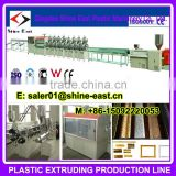 PS foaming phtoto frame bar production line / Frame picture moldings profiles production line