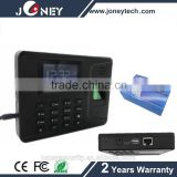 Employee time attendance, puch card fingerprint time attendance machine with free sdk