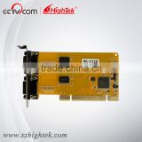 HighTek low profile bracket pci expansion rs-232 serial card