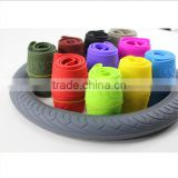 Top sale multi type steering wheel cover/Leather/Silicone/Colorful gilr steering wheel cover with high quality