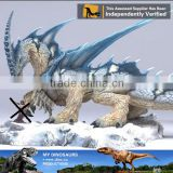 MY Dino-C057 Outdoor plaza animated European dragon statues