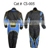 Black And Blue Nomex Racing Suit