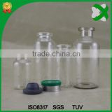 10ml glass pharmacy vial with injection cap