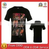 wholesale printed t-shirts printing machine cup t-shirts all over sublimation printing t-shirt