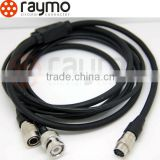 hirose push pull camera connector cable assembly