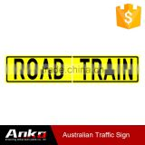 reflective for vehicles,reflective aluminum plate for trailers or road,warning sign tape