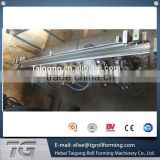 high speed16 Stations K / Seamless Gutter Roll Forming Machine For Down Pipe / Downspout best supplier in China