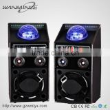 "single 10"" 120W active speaker big power stereo music player protage loudspeaker live sound system"