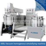 cosmetic mixing equipment, ointment vacuum emulsifying machine