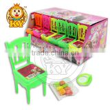 Cartoon Frozen Printed Toy Candy, Chair Toy with Compressed Candy
