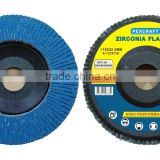 Chat Now! Flexible Zirconia abrasive flap disc 115mm X 22.2mm