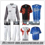 2016 New Sublimation 100% Mesh Polyester fashion American Baseball Jersey &softball jersey