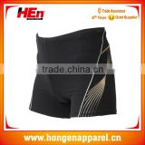 Promotion gymnastics sample swim pants young boys /latest suit styles for men