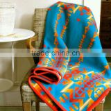INQUIRY about wool blanket native american four directions design classic multicolor the bright smaller throw cozy blanket