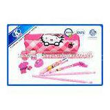 Hello Kitty Girl Kids Personalized Stationery Sets Eco-friendly 2288cm