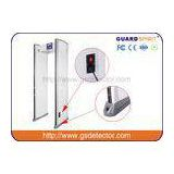 Bank Airport Security Machines 6 Zones With Sound And LED Alarm , Police Metal Detectors