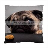 NEW Funny Dog Pug Cushion Cover Pillow Case