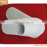 white plain design hospital doctor slipper