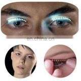 emergency led eyelashes light up led eyelashes party gifts led eyelashes