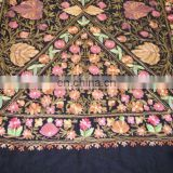 Embroidered pashminas wool shawl