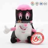 Custom made enterprise mascot plush toys cartoon characters for promotion gifts