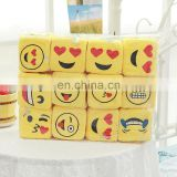 Emoji Smiley Emoticon Yellow Funny expression Plush dice car ornaments Pendant Soft Toy