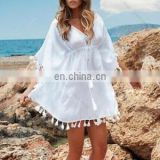 Modern Style Women Swimsuit Mini dress Cover up Kaftan Sarong Summer Swimwear Bikini Tops