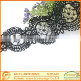 Nice Design Black lace For Garment Wholesale Fabric Lace Triming