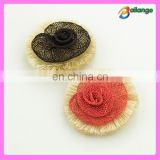 handmade lady shoe flower accessories for sandal