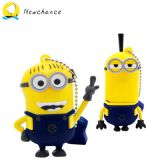 Hot Sell 3D PVC Carton Cute Minions USB Flash Disk